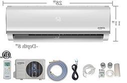 Innova 9,000 BTU Ductless Mini-Split Air Conditioner – Inv