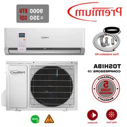 9000 BTU Air Conditioner Mini Split System Ductless AC Only