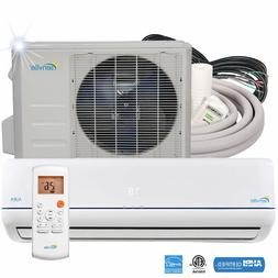 Senville 9000 BTU Mini Split Air Conditioner with Ductless H