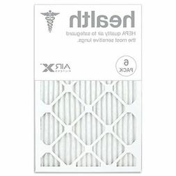 AIRx HEALTH 16x25x1 MERV 13 Pleated Air Filter - Made in the