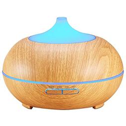 Amir Essential Oil Diffuser, 300ml Cool Mist Ultrasonic Humi