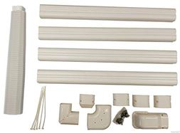 Decorative PVC Line Cover Kit for Mini Split Air Conditioner