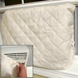 Evelots Window Air Conditioner Cover-Indoor-Quilted-Heat Sta