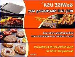 GoWISE USA Set of Non-Stick Reusable Durable 2 Pcs Baking &
