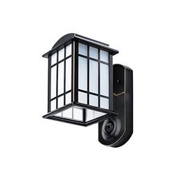 Maximus Video Security Camera & Outdoor Light - Craftsman Br