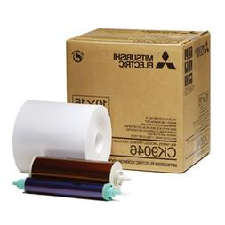 """Mitsubishi Electric 6"""" Wide Paper Roll & Inksheet for 600 Ph"""