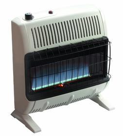 Mr. Heater 30,000 BTU Natural Gas Blue Flame Vent Free Heate