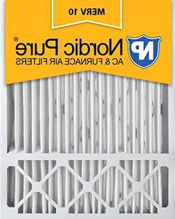 Nordic Pure 20x25x5, MERV 10, Honeywell Replacement Air Filt