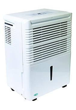 PerfectAire PAD70 70 Pints/Day Dehumidifier, Adjustable Humi