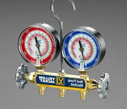 "Yellow Jacket 42044 Heat Pump Manifold w/ 60"" PLUS II™ Hos"