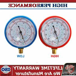 A/C Air Conditioner R410A R134A R22 Refrigerant Low&High Pre