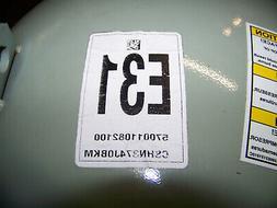 Trane A/C Compressor 460V 60 Hz 3 Phase R410A 37 Ton 5700110