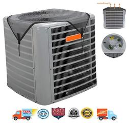 ac cover summer top air conditioner leaf