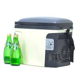 Generic AC DC Portable Car Cooler Warmer Mini Truck RV Refri