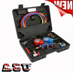 AC Manifold Gauge Set Quick Coupler Air Conditioner Refriger