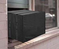 AC Parts Premium Outdoor Winter Window Unit Black Cover Heav
