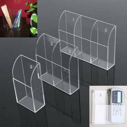 Acrylic TV Air Conditioner Remote Control Holder Case Wall M
