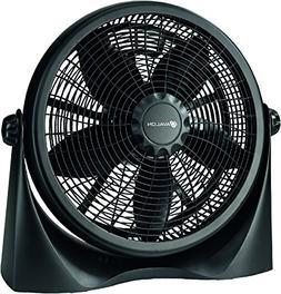 Genesis Adjustable Table Fan or Floor Fan - 16 Inch - 360 De