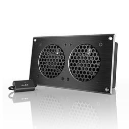 AC Infinity AI-CFD80BA Dual 80 Quiet Cabinet Fan, Black