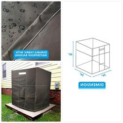 air conditioner cover for outside condensing unit