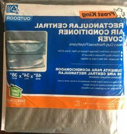 """Air Conditioner Cover Heavy Duty Rectangular 48""""x 34""""x 3"""