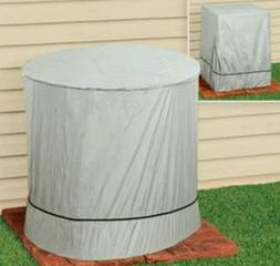 Air Conditioner Cover Outdoor AC ROUND Waterproof  Protectio