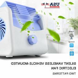 Air Conditioner Quiet Cooling Fan Silent Portable Desktop Fo