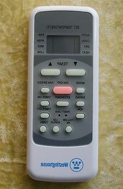 Westinghouse  Air Conditioner Remote Control - R51I10/BGE