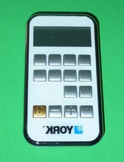 YORK Air Conditioner Remote Control - ZH/TT-02 NEW