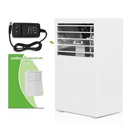 SUPOW Air Humidifier Cooler, Desktop Bladeless Fan Mini 9.5