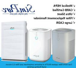 Air Purifier With True HEPA Filter Ultra Quiet Cleaner for L