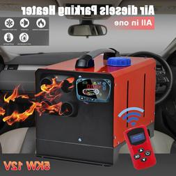 All in One 5KW 12V/24V <font><b>Heater</b></font> Air Diesel