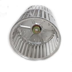 5 3/4 X 7 3/4 X 1/2 Aluminum Double Inlet Blower Wheel CW