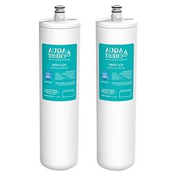 AQUACREST Replacement DW80/90 Under Sink Water Filter, Compa