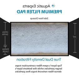 Aquarium Filter Pad Premium True Dual Density Media Roll for