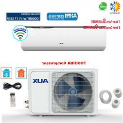 AUX 12000BTU Ductless Air Conditioner Heat Pump MINI Split 1