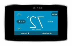 Emerson Black Sensi Thermostat with Built-In Wifi