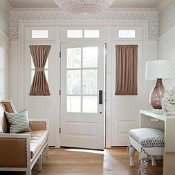 NICETOWN Door Curtain Panels for Sidelights - Energy Efficie