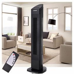 Bladeless Oscillating Tower Fan Cooling Air Conditioner 3 Sp