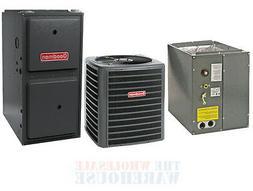 Goodman 80% 100,000 BTU Gas Furnace + 4 Ton 13 SEER AC