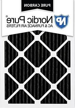 Nordic Pure 14x25x1 Pure Carbon Pleated Odor Reduction AC Fu