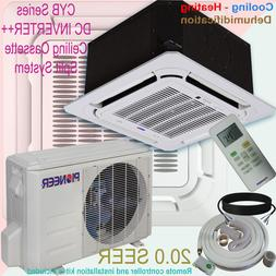 Pioneer 8-Way Ceiling Cassette Split Inverter Air Conditione