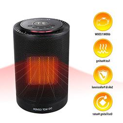 MARNUR Ceramic Space Heater - Oscillating Heater with Adjust