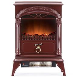 Classical Electric Fireplace Stove Free Standing Portable He