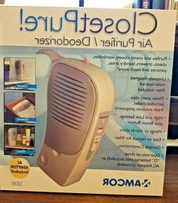 3 Scents! Amcor ClosetPure! Air Purifier Deodorizer Clothing
