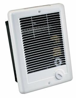 Cadet 1500W ComPak Plus InWall Fan Heater White