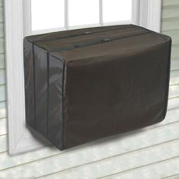 "Air Conditioner Cover Waterproof Small Bottom Covered 21.5""W"