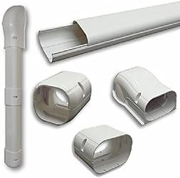 Decorative Air Conditioner Line Set Cover Kit Installation F