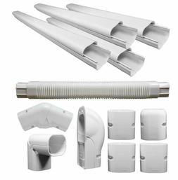 decorative pvc line cover kit for heat