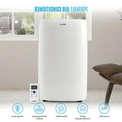 DELLA 12,000 BTU Portable Air Conditioner Dehumidifier Energ
